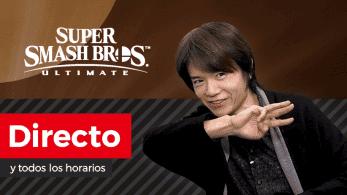 ¡Sigue aquí en directo y en español la presentación del 5º luchador DLC de Super Smash Bros. Ultimate!