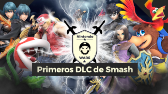 ¡Arranca Nintendo Wars: Primeros personajes DLC de Super Smash Bros. Ultimate!