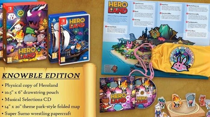 [Act.] Heroland contará con una Day One Edition que se lanzará el 31 de enero en Europa y Australia