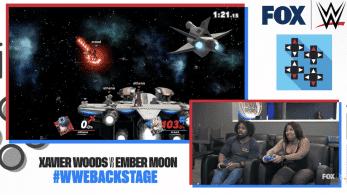 Las estrellas de la WWE Xavier Woods y Ember Moon miden sus fuerzas en Smash Bros. Ultimate