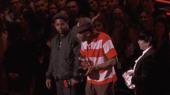 Una Nintendo Switch se cuela en la ceremonia de los Grammy