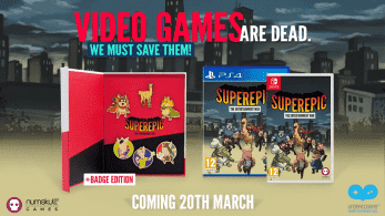 SuperEpic: Collector's Edition llegará a Nintendo Switch el 20 de marzo