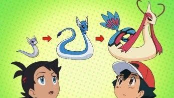El anime de Pokémon evidencia la extraña línea evolutiva de Dratini, Dragonair y Dragonite