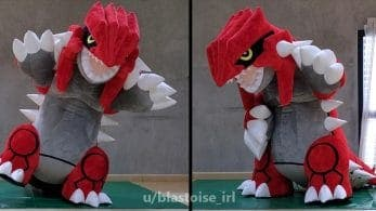 Un fan diseña un disfraz a tamaño humano de Groudon