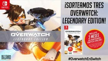 Nintendo España sortea 3 copias de Overwatch para Switch con #OverwatchEnSwitch