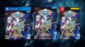 Phantasy Star Online 2: Cloud Episode 6 Deluxe Package se lanzará en formato físico el 23 de abril para Nintendo Switch en Japón