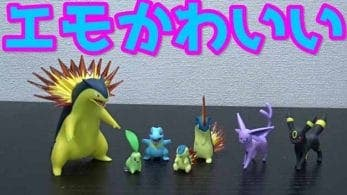 Primeros unboxing de Pokémon Scale World: Johto
