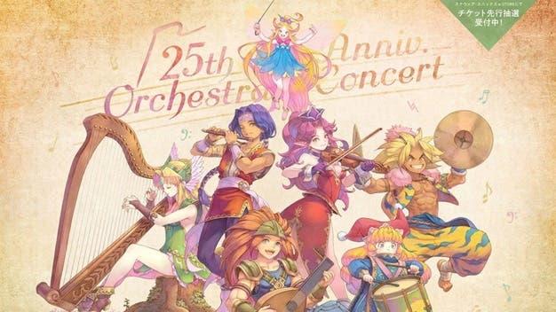 Square Enix celebrará el 25º aniversario de Trials of Mana con un concierto en Japón