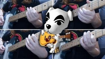 Escucha este genial cover de Animal Crossing: Wild World interpretado con guitarra eléctrica