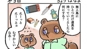 Nintendo comparte imágenes del manga oficial de Animal Crossing: New Horizons