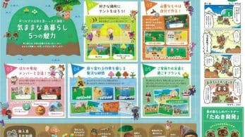 Se comparten imágenes de los folletos oficiales de Animal Crossing: New Horizons distribuidos en la Jump Festa y la World Hobby Fair