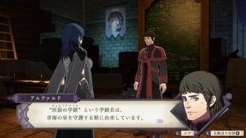 Alphard, un miembro de la Iglesia de Seiros, protagoniza las novedades de hoy de Fire Emblem: Three Houses