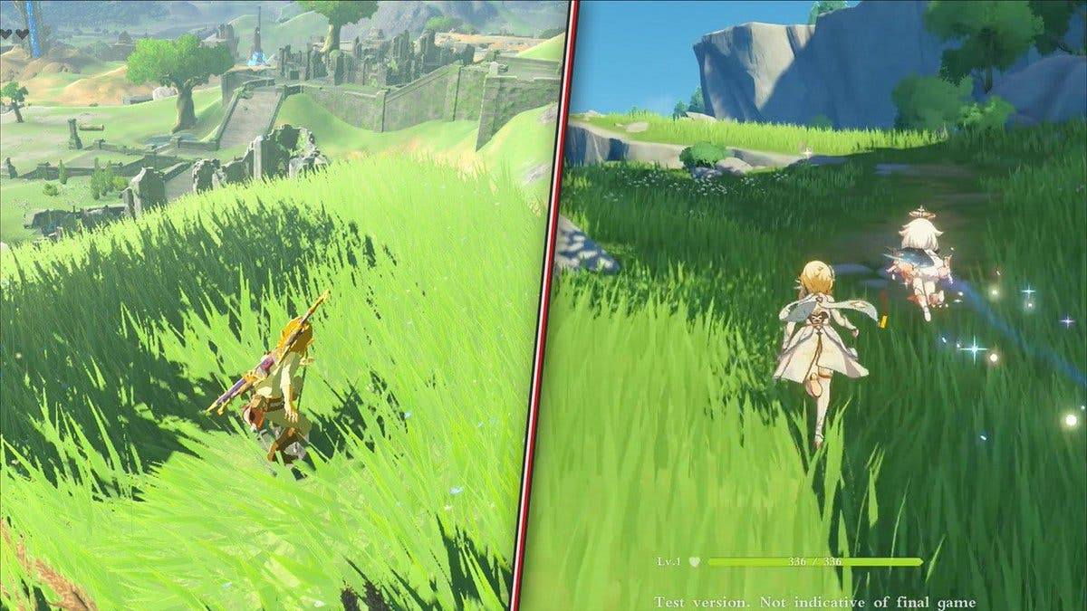 [Act.]  comparativo: Zelda: Breath of the Wild vs. Genshin Impact