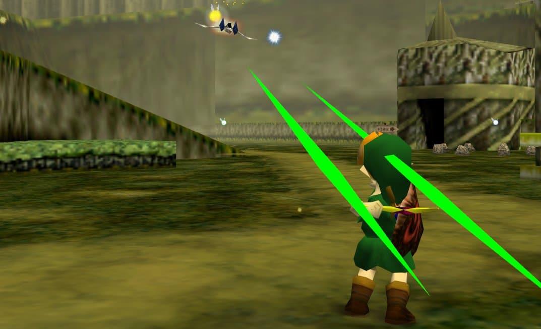 Arwings aparecen por primera vez de forma legal en Zelda: Ocarina of Time