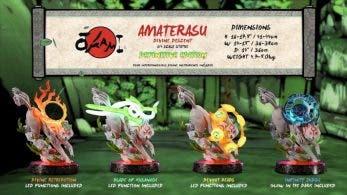 Nueva colección de First 4 Figures centrada en Amaterasu de Okami