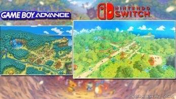 Comparativa en vídeo de Pokémon Mundo misterioso: GBA vs. Nintendo Switch