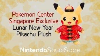 Ya puedes comprar el peluche Pokémon de Pikachu de Año Nuevo lunar en la NintendoSoup Store