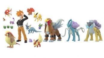 El pack 2 de figuras Pokémon Scale World Johto y los Perros Legendarios ya disponibles para reservar con envío internacional