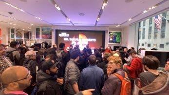 Así reaccionaron los asistentes a la Nintendo NY a la presentación de Byleth en Super Smash Bros. Ultimate