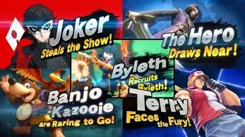 Un repaso a todos los tráilers del primer Fighters Pass de Super Smash Bros. Ultimate