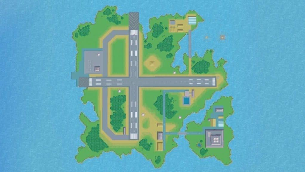Sakurai comparte esta curiosa captura del escenario de Pilotwings en Super Smash Bros. Ultimate