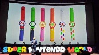 Nuevos detalles de Super Nintendo World: Eslogan, app para móviles, pulseras y más