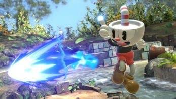 Cuphead recibe una rebaja del 25% de su precio debido a la llegada de su traje a Super Smash Bros. Ultimate