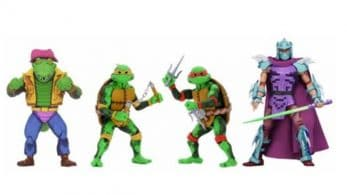 NECA lanzará el pack de figuras Teenage Mutant Ninja Turtles: Turtles in Time Series 2