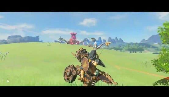 Este vídeo de Zelda: Breath of the Wild parece sacado de una película de acción