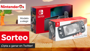 [Act.] ¡Sorteamos una Nintendo Switch normal o Lite a elegir!