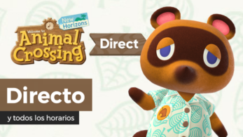¡Sigue aquí en directo y en español el Nintendo Direct de Animal Crossing: New Horizons!