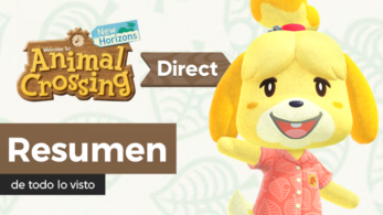 Resumen y diferido del Nintendo Direct de Animal Crossing: New Horizons