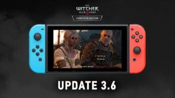[Act.] The Witcher 3 recibe de forma oficial la versión 3.6 en Nintendo Switch con estas novedades