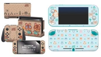 Nuevas skins para Nintendo Switch y Lite de Animal Crossing: New Horizons ya disponibles