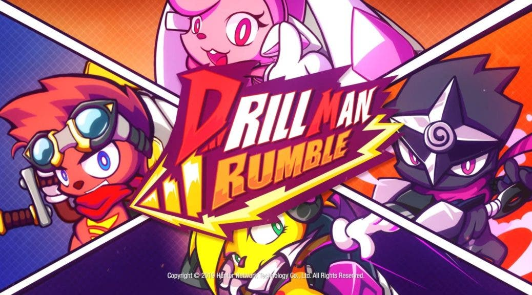 Drill Man Rumble se lanza este año en Nintendo Switch