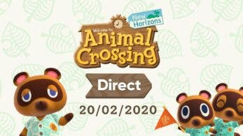 Anunciado un Nintendo Direct de Animal Crossing: New Horizons para el 20 de febrero