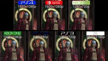 Comparativa en vídeo de Devil May Cry 3 Special Edition en Switch con PS2, PS3, PS4, Xbox 360, Xbox One y PC