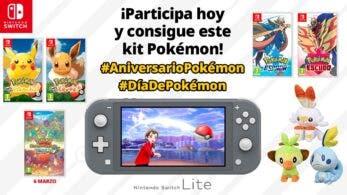 Nintendo sortea este kit Pokémon con #DiaDePokemon y #AniversarioPokemon