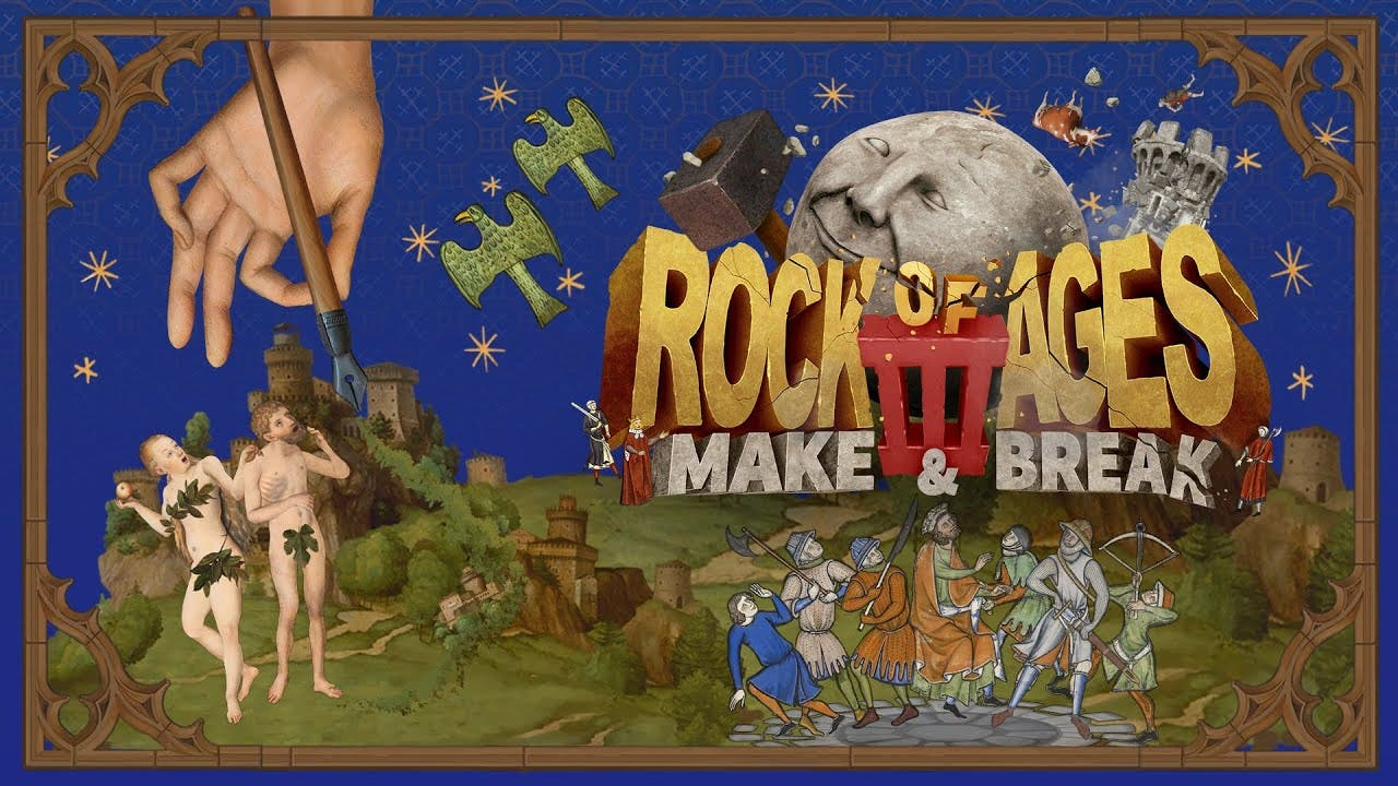 [Act.] Rock of Ages 3 se luce en este nuevo gameplay