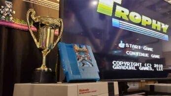 Trophy, un nuevo título retro para NES, se lanzará en físico y digital