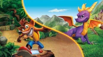 Los juegos de Crash Bandicoot y Spyro, de oferta hasta el 21 de febrero en Switch