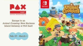 Nintendo detalla sus planes para la PAX East 2020: Animal Crossing: New Horizons será jugable