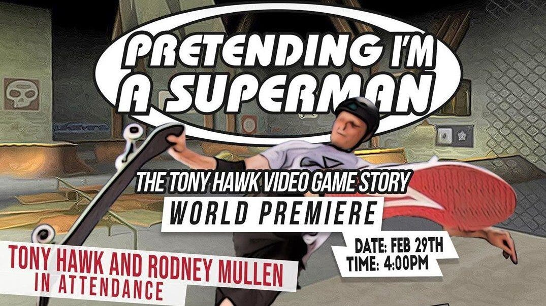 El documental de Tony Hawk's Pro Skater se estrenará en el Mammoth Film Festival