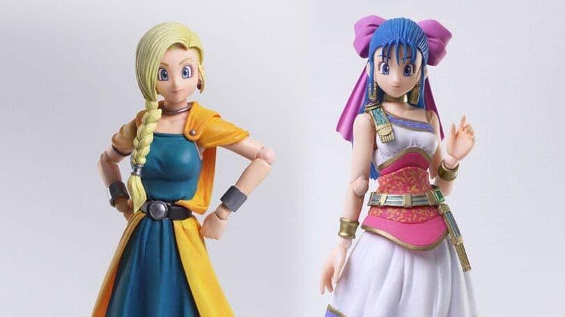 Echa un vistazo a estas nuevas figuras de Bianca y Nera de Dragon Quest V