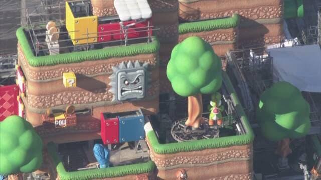 Nuevo vistazo aéreo de Super Nintendo World nos muestra el Castillo de Bowser y más