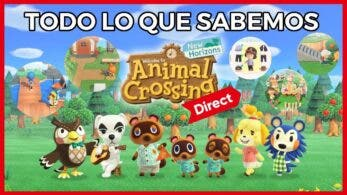 [Vídeo] Resumen y opinión del Nintendo Direct de Animal Crossing: New Horizons