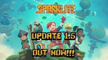 Sparklite recibe la actualización 1.5 y un 30% de descuento en Nintendo Switch