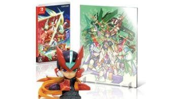 Diseño final del busto de la Edición Limitada de Mega Man Zero/ZX Legacy Collection, reserva disponible