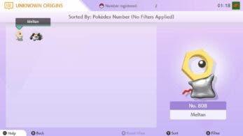 El misterio de Meltan y Melmetal en Pokémon Home