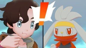 Jugador descubre una animación especial en el minijuego de cocinar curry de Pokémon Espada y Escudo